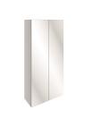 500mm Slim Mirrored Wall Unit (W500 x H720 x D168mm)