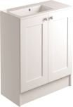 900mm 2 Door Vanity Unit Floorstanding