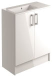 900mm 2 Door Vanity Unit Floorstanding