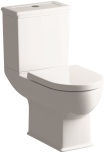 Close Coupled WC with Soft Close Seat