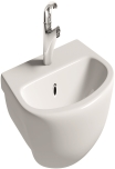 Semi Recessed Basin