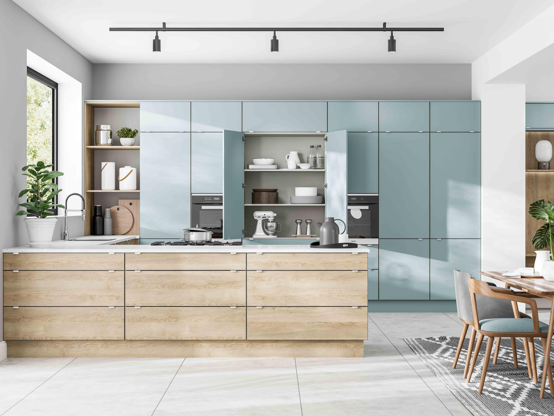 Five tricks to master broken-plan kitchen designs - TG Dream Kitchens